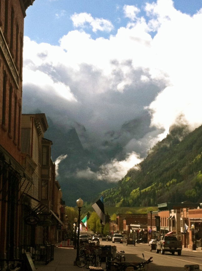 Beautiful Morning in Telluride!